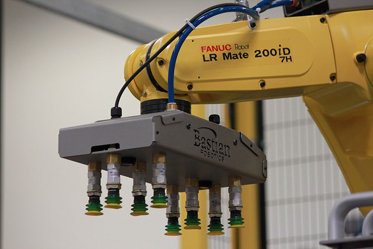 Robotic End Of Arm Tooling Industrial Robotics Bastian