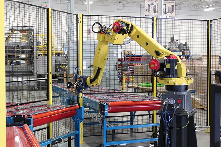 Robotic Machine Tending Industrial Robotics Bastian