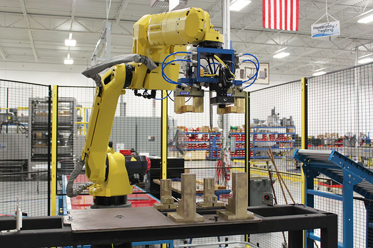 Robotic Machine Tending Industrial Robotics Bastian