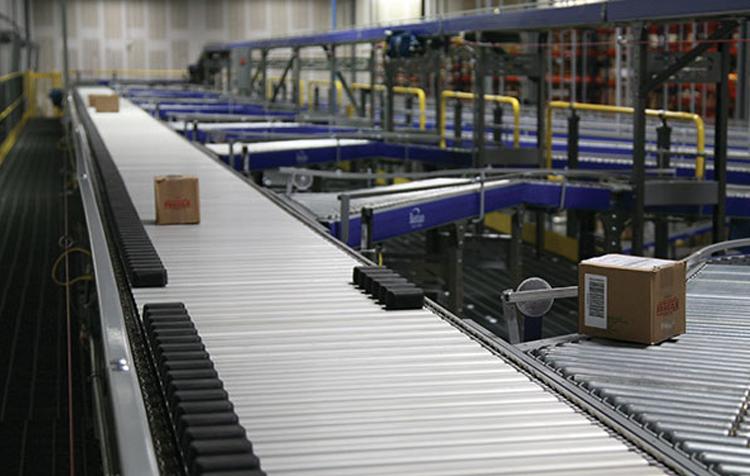 Shoe Sorter   Sortation Conveyor Systems   Material Handling   Bastian  Solutions