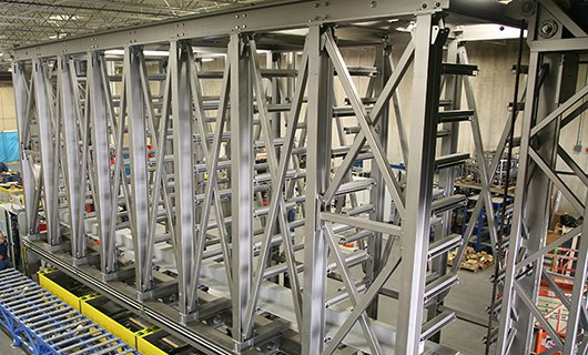 vertical-lift-module-for-part-molds