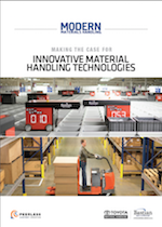 Making the Case for Innovative Material Handling Technologies