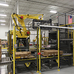 robotic palletizing cell